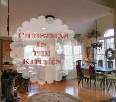 kitchen christmas decorating ideas christmas decor in a country french rustic kitchen debbiedoo u0027s