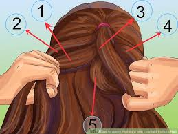 highlight lowlight hair pictures how to apply highlight and lowlight foils to hair with pictures