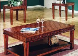 coffee tables ideal belham living brinfield rustic solid wood