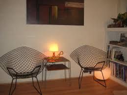 original authentic u0027bertoia diamond chair u0027 designed by