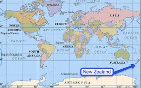 where is on the map where is zealand on the map map
