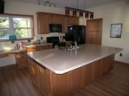 oak mission cabinets for minnesota lake home