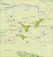 China Peak Map by Map Of Mount Maji China Maps China Destinations China Tour