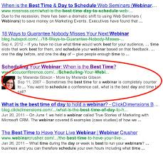 Seminar And Webinar Schedule A Practical Content Marketing Example Findsome U0026 Winmore