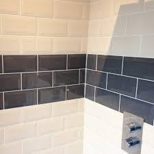 Grey Metro Bathroom Tiles Victoria Metro Wall Tiles Gloss Grey From Victorian Plumbing Co Uk