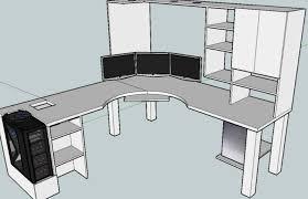 Computer Desk Woodworking Plans Glamorous Terrific Computer Desk Woodworking Plans 9 Audioequipos