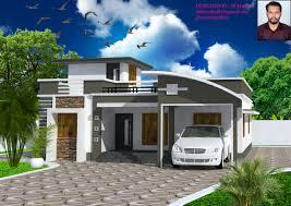 modern single house plans 1317 square 3 bedroom modern single floor house design and plan
