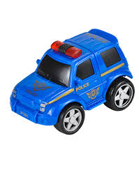 car toy blue rev up and go friction 4