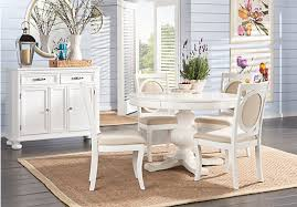 shop for a emory heights white 7 pc dining room at rooms to go