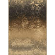 Faded Area Rug Orian Rugs Faded Metal Pewter 7 Ft 10 In X 10 Ft 10 In Indoor