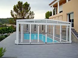 orion wide and tall telescopic retractable swimming pool cover