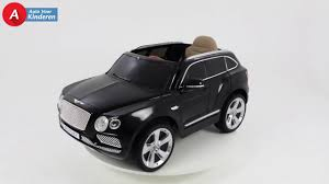 bentley jeep black bentley bentayga jeep for kids black youtube
