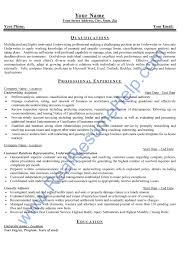 Resume Samples Warehouse Manager by Sample Real Estate Resumes Sample Business Technology Real