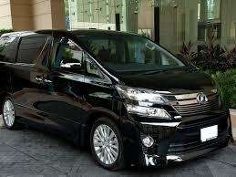 brand new toyota toyota vellfire luxury van brand new first class bangkok