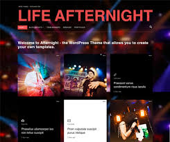 20 creative dj and nightlife website templates u0026 wordpress themes