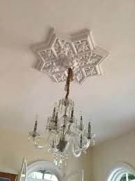 Medallion For Light Fixture An Introduction To Ceiling Medallions