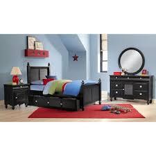 seaside twin bed black american signature furniture