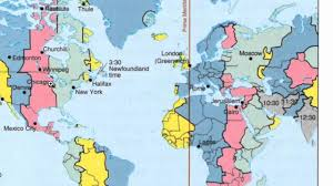 Time Zone Map Usa by Time Zones Travel Usa India Youtube