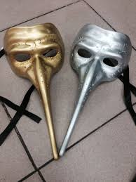 online shop sale mens long nose masquerade mask halloween