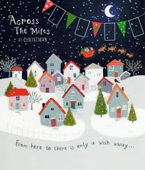 across the miles christmas greeting card cards love kates
