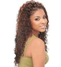 sew in hairstyles with braids for braided hair extensions 2017