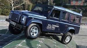 land rover electric 2013 land rover electric defender concept off road demonstration