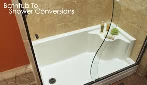 Bathroom Tub To Shower Conversion Bathtub To Shower Conversion Pacific Coast Re Bath Bath Remodel
