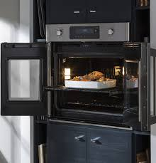 Wall Oven Under Cooktop Single And Double Wall Ovens Ge Appliances