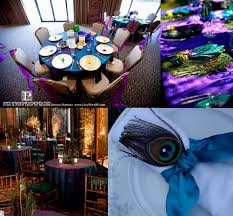 peacock wedding decorations decorating party