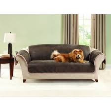 Pet Covers For Sofa by Faux Leather Slipcovers U0026 Furniture Covers Shop The Best Deals