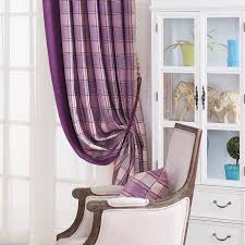 Thick Purple Curtains Luxury Chenille Curtains For Living Room Purple Thick Curtains For