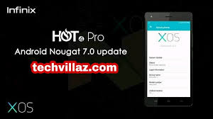how to upgrade android version how to upgrade infinix 4 pro to android nougat 7 os techvilaz