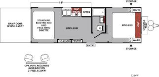 Fifth Wheel Trailers Floor Plans by Xlr Nitro Travel Trailer U0026 Fifth Wheel Toy Haulers Floorplans