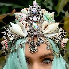 where to buy seashells mermaid crowns with real seashells are taking by