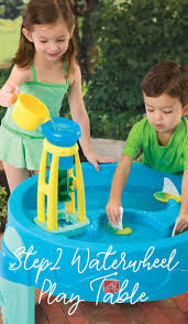 step2 waterwheel play table kids will love splashing up hours of outdoor fun with the step2
