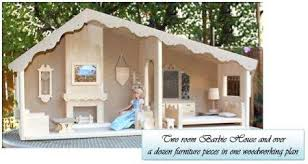 04 fs 153 barbie dollhouse 2 rooms woodworking plan