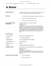 career objective for mba resume beautiful excellent professional