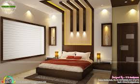 kitchen living bedroom dining interior decor kerala home bedroom interior