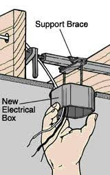 Ceiling Fan Brackets by Dixon Home Building Centre Install A Ceiling Fan