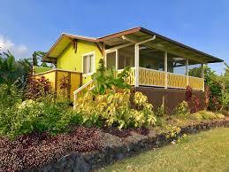 Hawaii Vacation Homes by Ocean View Vacation Rental Near Kehena Beach Pahoa Big Island Hawaii