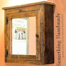 Medicine Cabinets Amazon Com Amazon Com Barn Wood Medicine Cabinet With Mirror Made From 1800s
