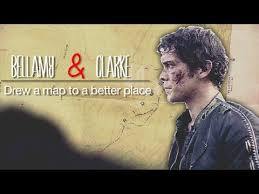 100 where to place tv bellamy clarke drew a map to a better place the 100 tv show
