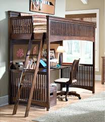 Bunk Bed With Crib On Bottom Loft Beds Loft Bed With Workstation Girls Bunk Beds And Desk