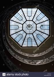 octagon stained glass window octagonal glass roof window above giuseppe momo u0027s spiral staircase