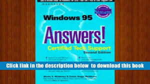 download windows 95 answers certified tech support osborne s