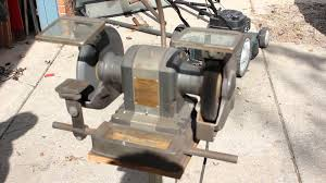vintage craftsman 3 4 hp grinder youtube
