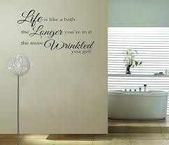 Bathroom Quotes For Walls 40 Best Bathroom Wall Art Ideas Images On Pinterest Bathroom