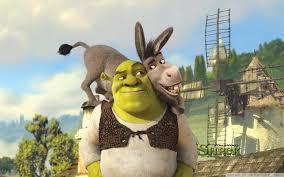 shrek donkey shrek hd desktop wallpaper