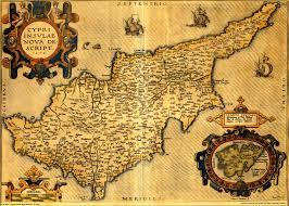 Map Of Cyprus Mapas Antiguos Del Mundo Para Imprimir Buscar Con Google El