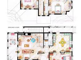 Floor Plans Of Tv Homes by Download Tv House Floor Plans Stabygutt